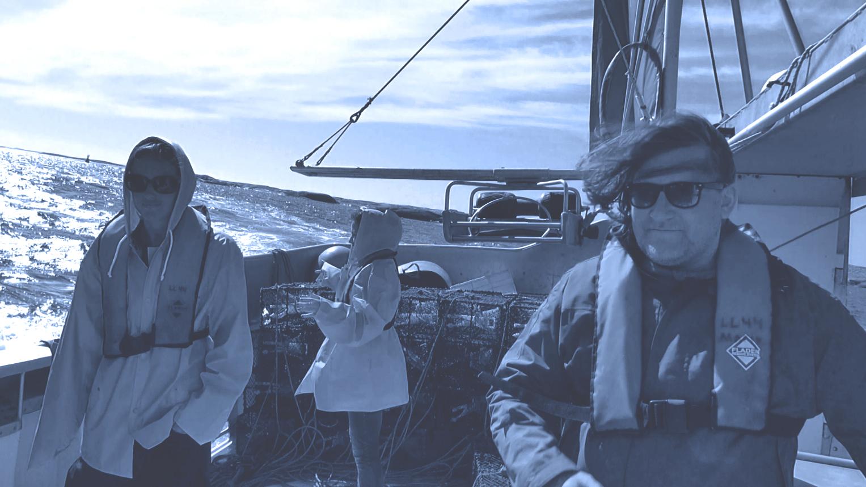 Западная Швеция. В море. Поймал, сварил, съел