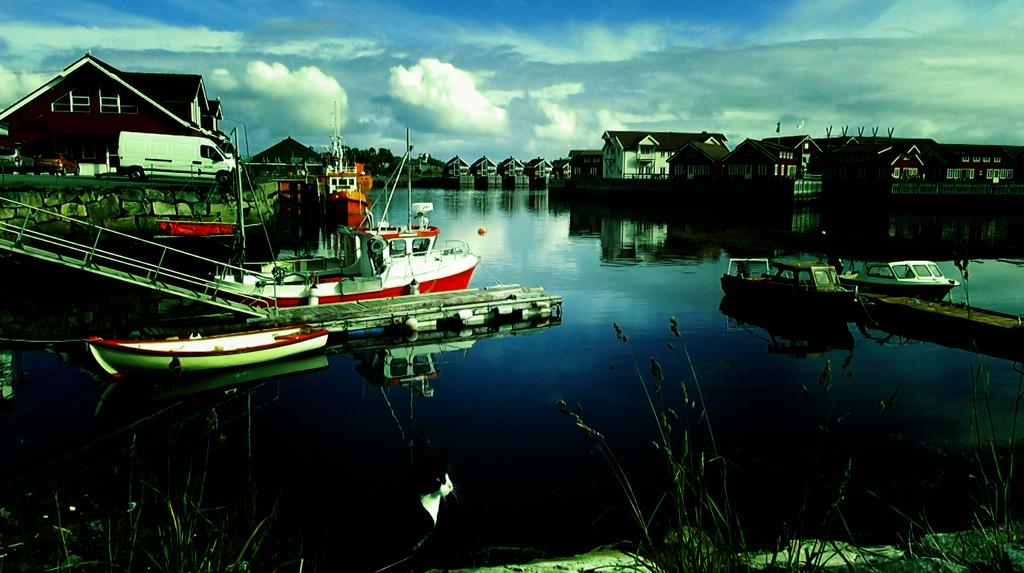 Лофотены. Свольвер. Деревня Å. Рыбный стол Норвегии 011