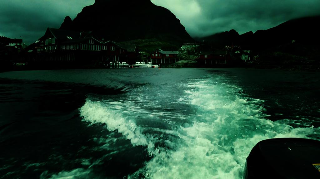 Лофотены. Свольвер. Деревня Å. Рыбный стол Норвегии 020
