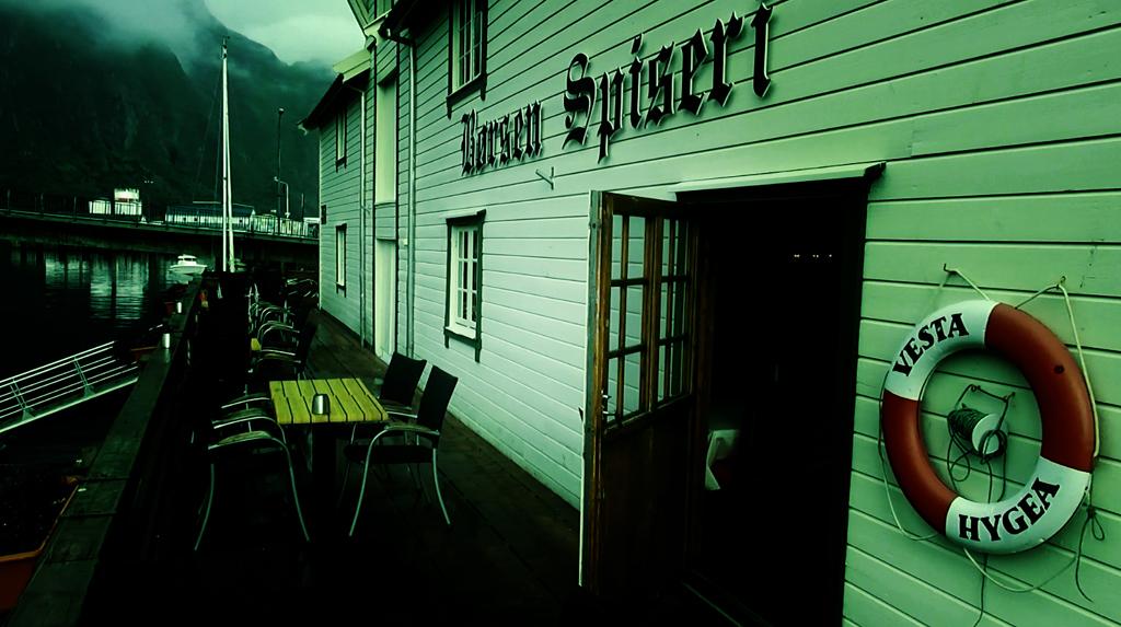 Лофотены. Свольвер. Деревня Å. Рыбный стол Норвегии 07