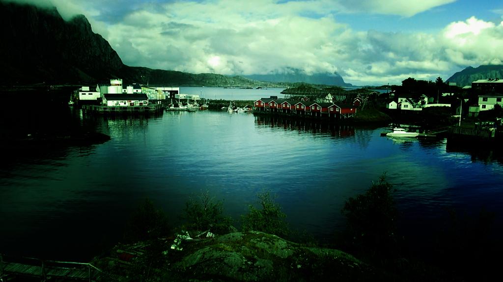 Лофотены. Свольвер. Деревня Å. Рыбный стол Норвегии 08