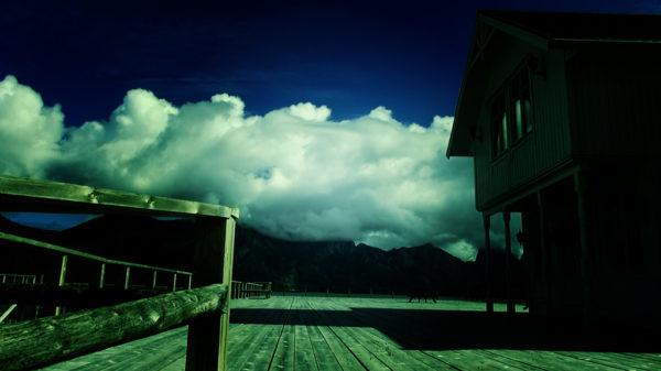 С высокой кухни через мост в небо и Рыболовный Диснейленд 017