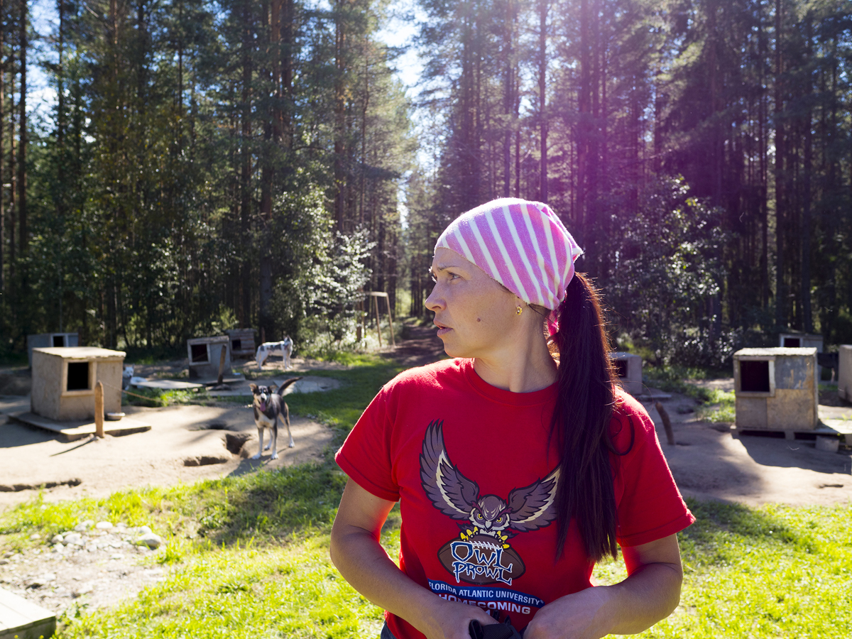Северная Карелия Калевала хаски 05