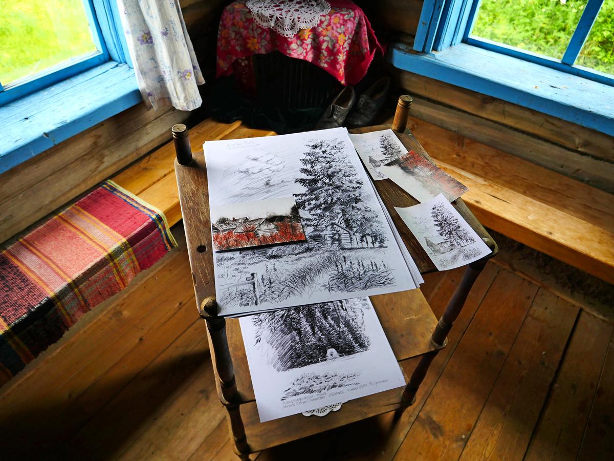Экскурсия в деревню Хайколя — этнографическая экскурсия летом 08