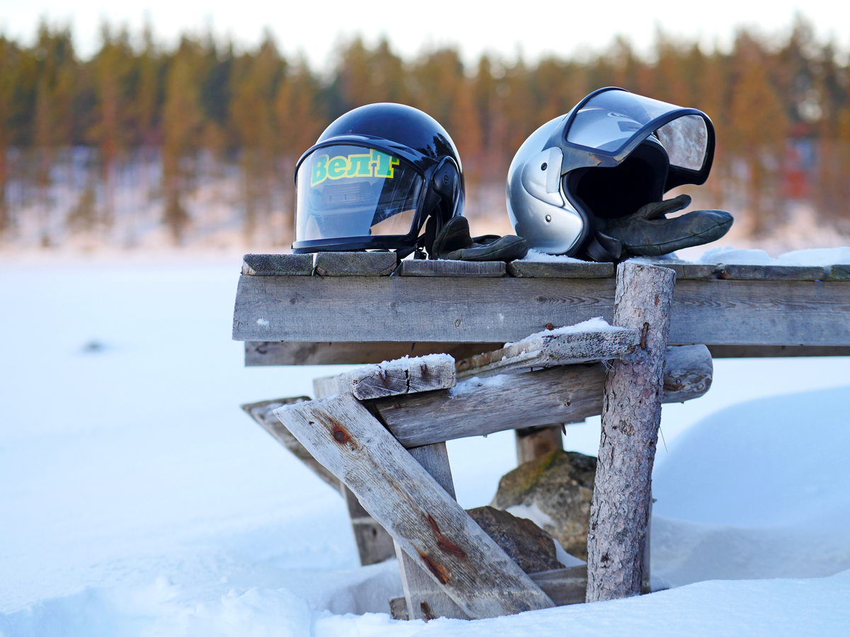 Снегоходы в Северной Карелии 01
