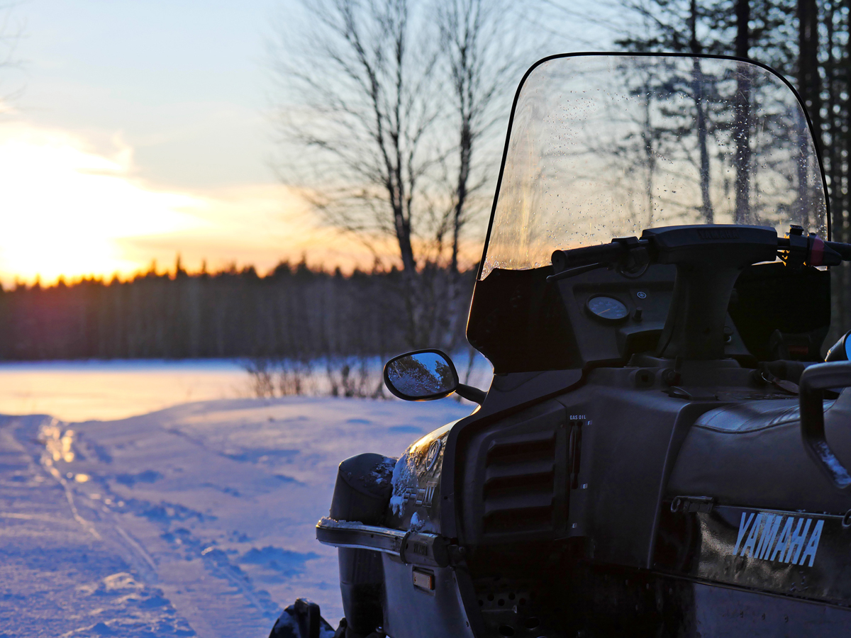 Снегоходы в Северной Карелии 012