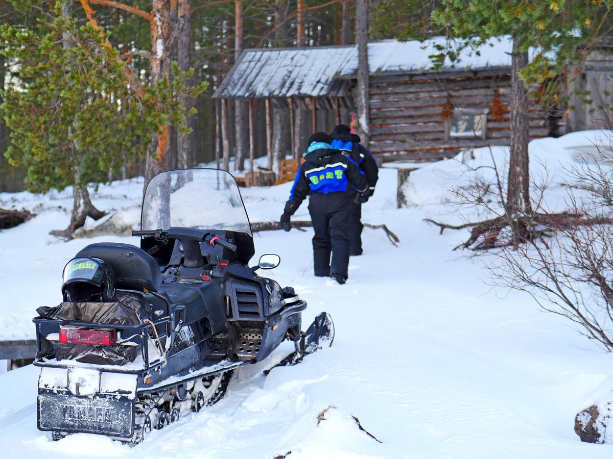 Снегоходы в Северной Карелии 014