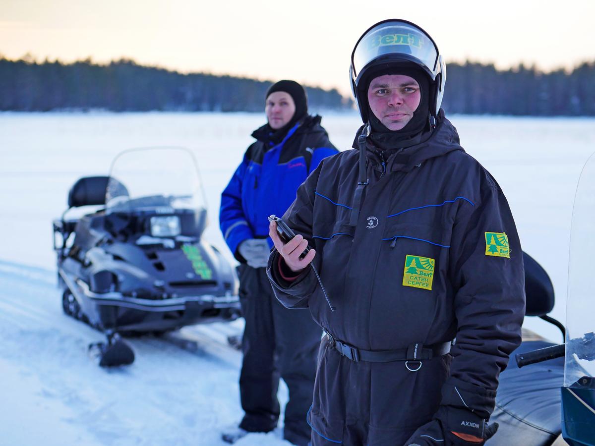 Снегоходы в Северной Карелии 018