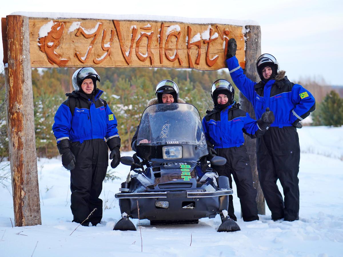 Снегоходы в Северной Карелии 020