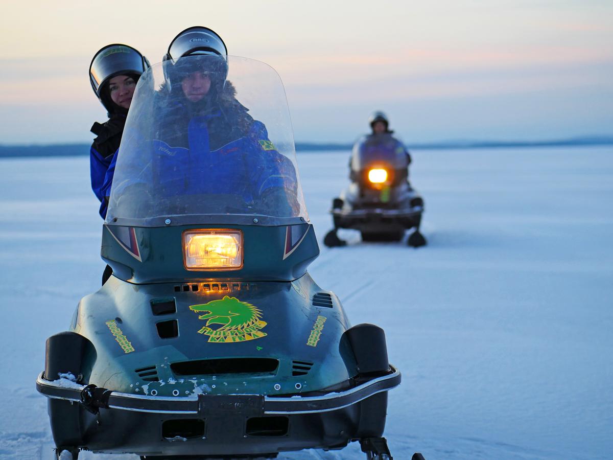 Снегоходы в Северной Карелии 022