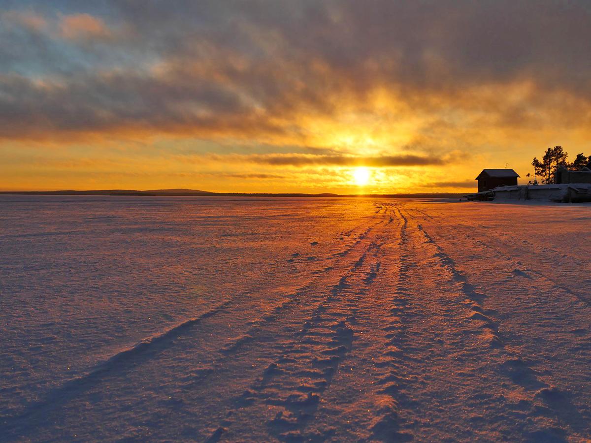 Снегоходы в Северной Карелии 023