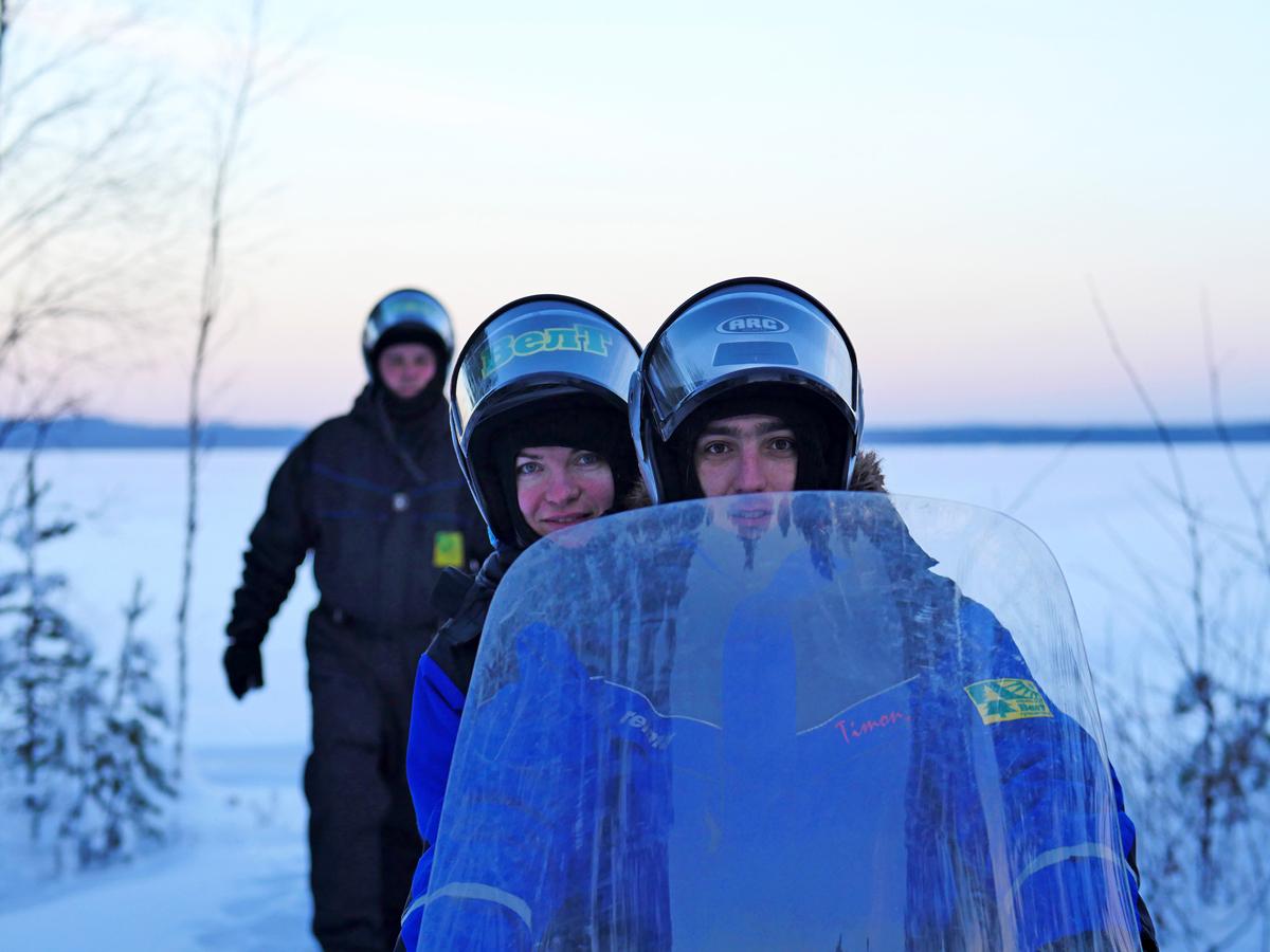 Снегоходы в Северной Карелии 03