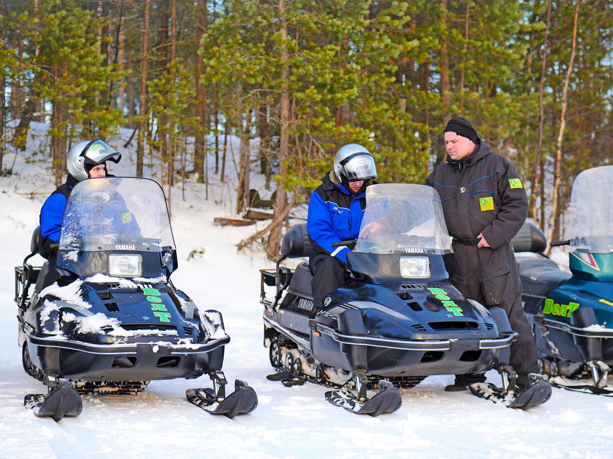 Снегоходы в Северной Карелии 05