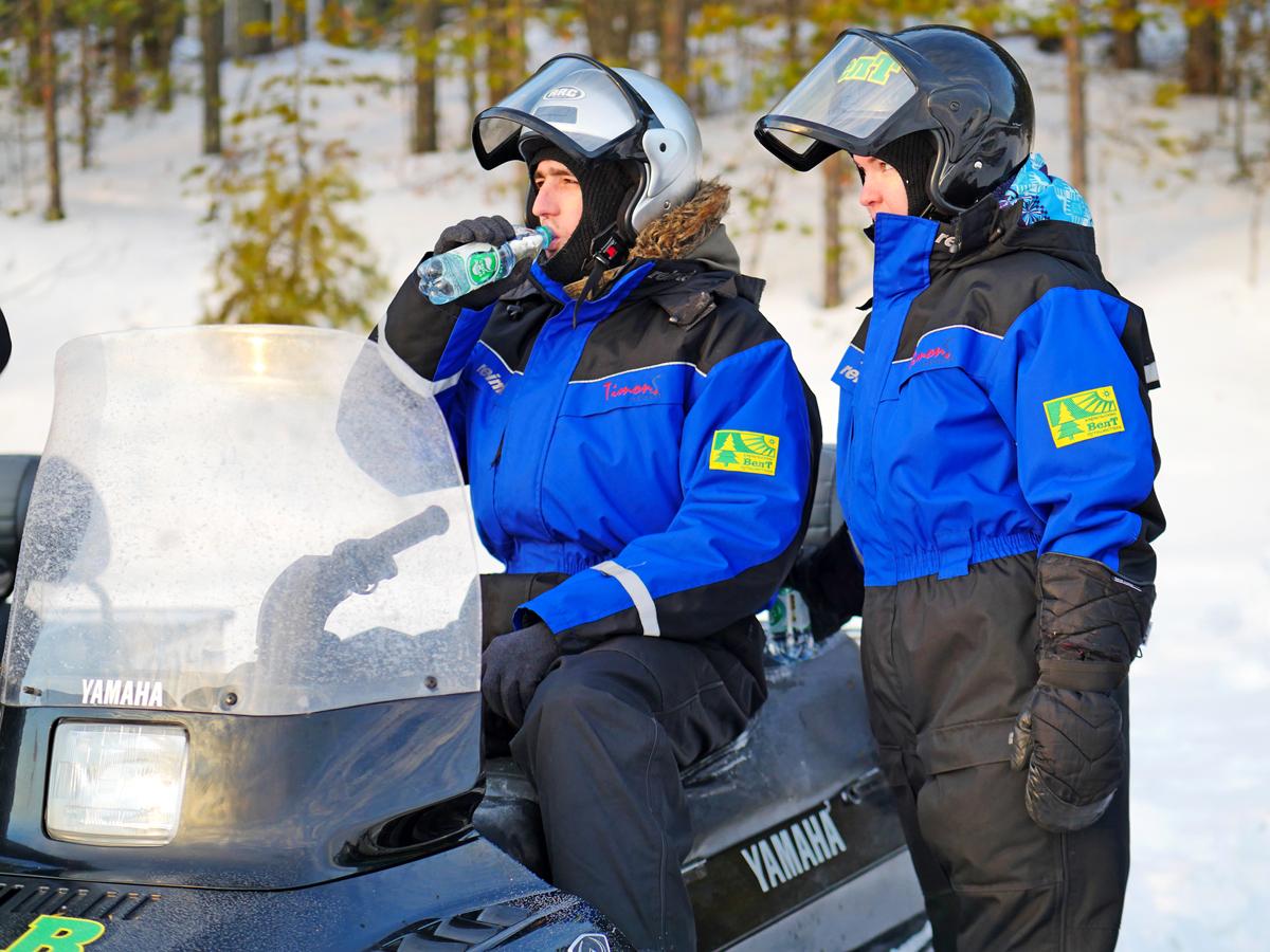 Снегоходы в Северной Карелии 07