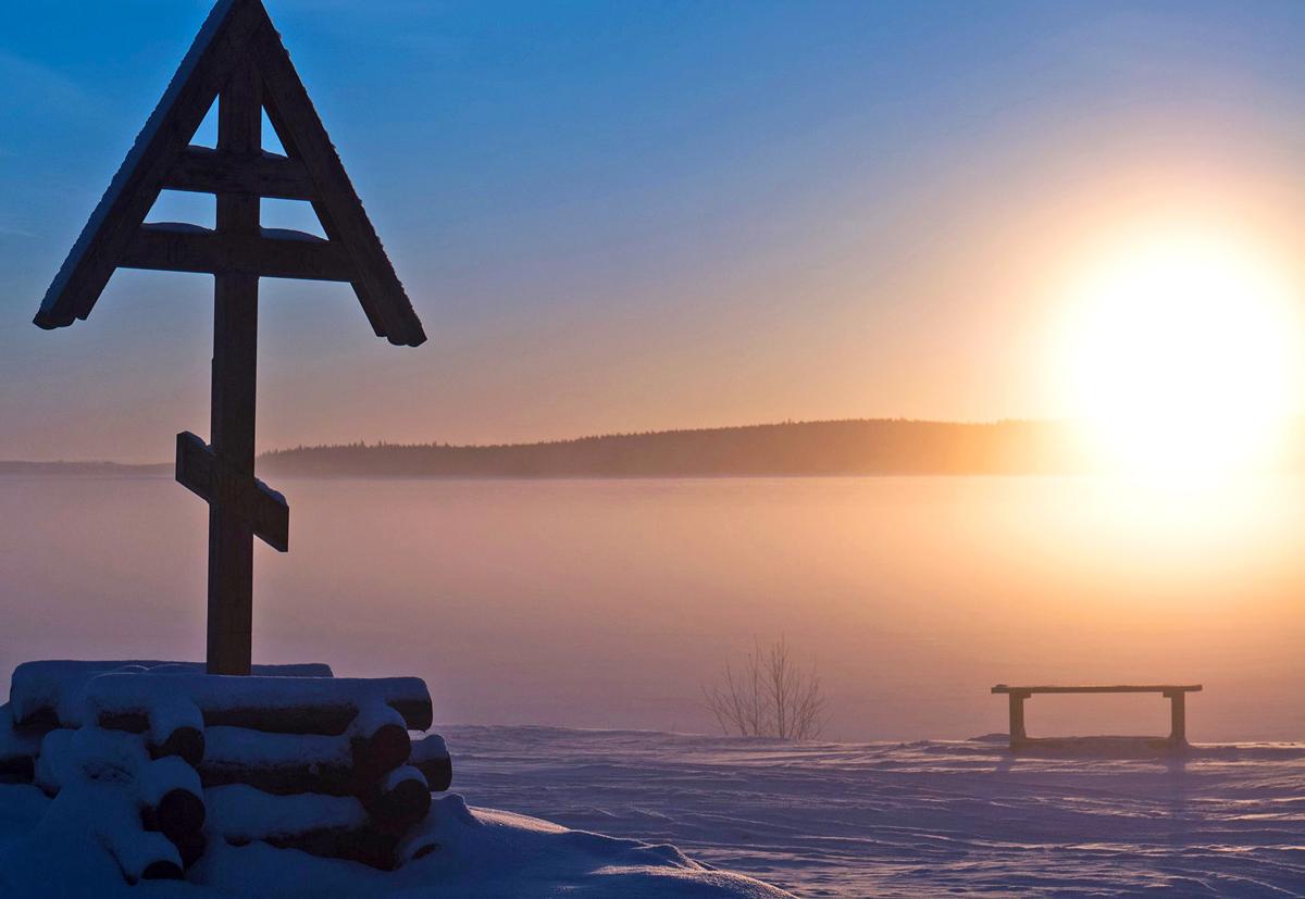 Снегоходы в Северной Карелии 09